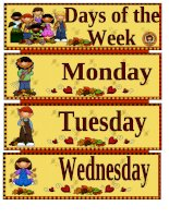 37630 days of the week