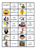islcollective worksheets elementary a1 elementary school reading adjectives to describe feelings   moo feeling domino 116341520754389d5dd98c63 45165775