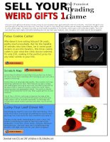 7897 sell your weird gifts 1 trading game