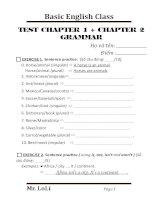 TEST GRAM CHAPTER 1 +2