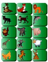 22059 animal flashcards