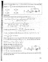 CẨM NANG ôn LUYỆN THI đại học, CAO ĐẲNG môn vật lý (tập 1   p4)   NGUYỄN ANH VINH
