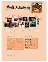 7423 toy story movie activity
