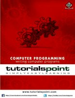computer programming tutorial