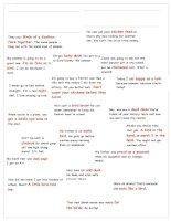 bird idioms poster and vocabulary