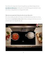 Điều kiện nào giúp bạn tìm mua bếp từ ở đâu uy tín