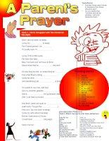 335 a parents prayer
