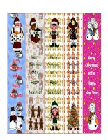 14952 bookmarks for christmas