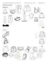 clothing puzzle