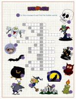 34506 halloween crossword puzzle
