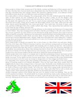 64362 customs and traditions in great britain