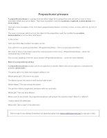 Prepositional phrases 2