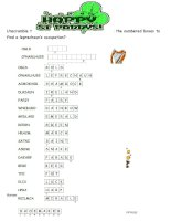 19674 st patricks day word scramble