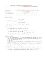 tuyển tập đề thi chọn học sinh giỏi toán 11 các tỉnh
