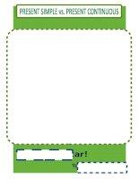 16832 present simple vs present continuous