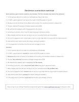 Sentence correction exercise 2