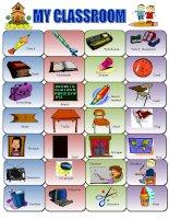 8836 classroom items