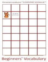 18291 basic vocabulary board game