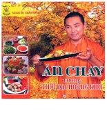 ĂN CHAY TRONG THỜI đại HOÀNG KIM