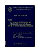 Thực trạng công tác kế toán thanh toán không dùng tiền mặt tại ngân hàng TMCP Quân đội