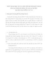 THỰC TRẠNG học tập của SINH VIÊN hệ CHÍNH QUY TRONG đào tạo THEO hệ THỐNG tín CHỈ tại TRƯỜNG DHGTVT