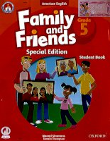 Family and friends grade 5 special edition student book