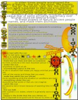 3673 moon and sun idioms