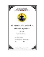 ĐỒ án THIẾT kế hệ THỐNG QUẢN lý NHÂN sự CHO CÔNG TY cổ PHẦN THIẾT bị áp lực ĐÔNG ANH