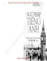 Ngữ pháp tiếng anh  TOEIC BOOK STORE