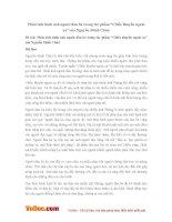 """Văn mẫu lớp 11: Phân tích hình ảnh người đàn bà trong tác phẩm """"Chiếc thuyền ngoài xa"""" của Nguyễn Minh Châu"""