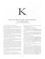 Bách khoa thư bệnh học, tập 4 (phần k)