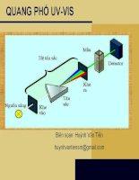 Phương pháp Quang phổ UV VIS