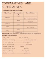 62298 comparatives and superlatives