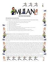 Mulan activity guide 1