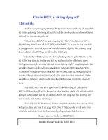chuẩn 80211n và ứng dụng wifi