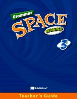 Grammar space beginner 3 TG