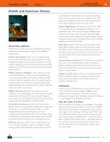 British and american stories pearson level 5 teacher book