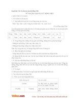 Soạn bài lớp 6: Từ và cấu tạo của từ tiếng Việt