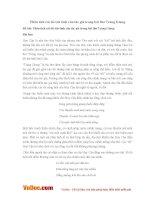 Văn mẫu lớp 11: Phân tích cái tôi trữ tình của tác giả trong bài thơ Tràng Giang