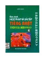 Giáo trình ngữ pháp và bài tập tiếng Nhật