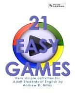 21 activities for english teachers