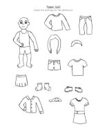 20902 paper doll clothing for 2nd graders and up