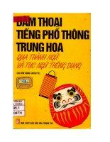 Giáo trình đàm thoại tiếng phổ thông Trung Hoa
