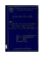 Phân tích tình hình hoạt động tín dụng tại ngân hàng TMCP An Bình – phòng giao dịch Nguyễn Tri Phương