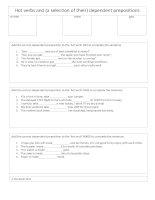 10025 take make and get  dependent preposition worksheet