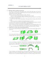 Sức bền vật liệu 1 chương 1  có bài tập đáp án cuôi chương