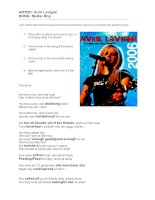 399 lyrics  avril lavigne   skater boy