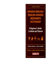 Spanish english dict