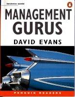 management gurus by david evans
