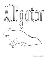 Reptile and amphibian coloring pages
